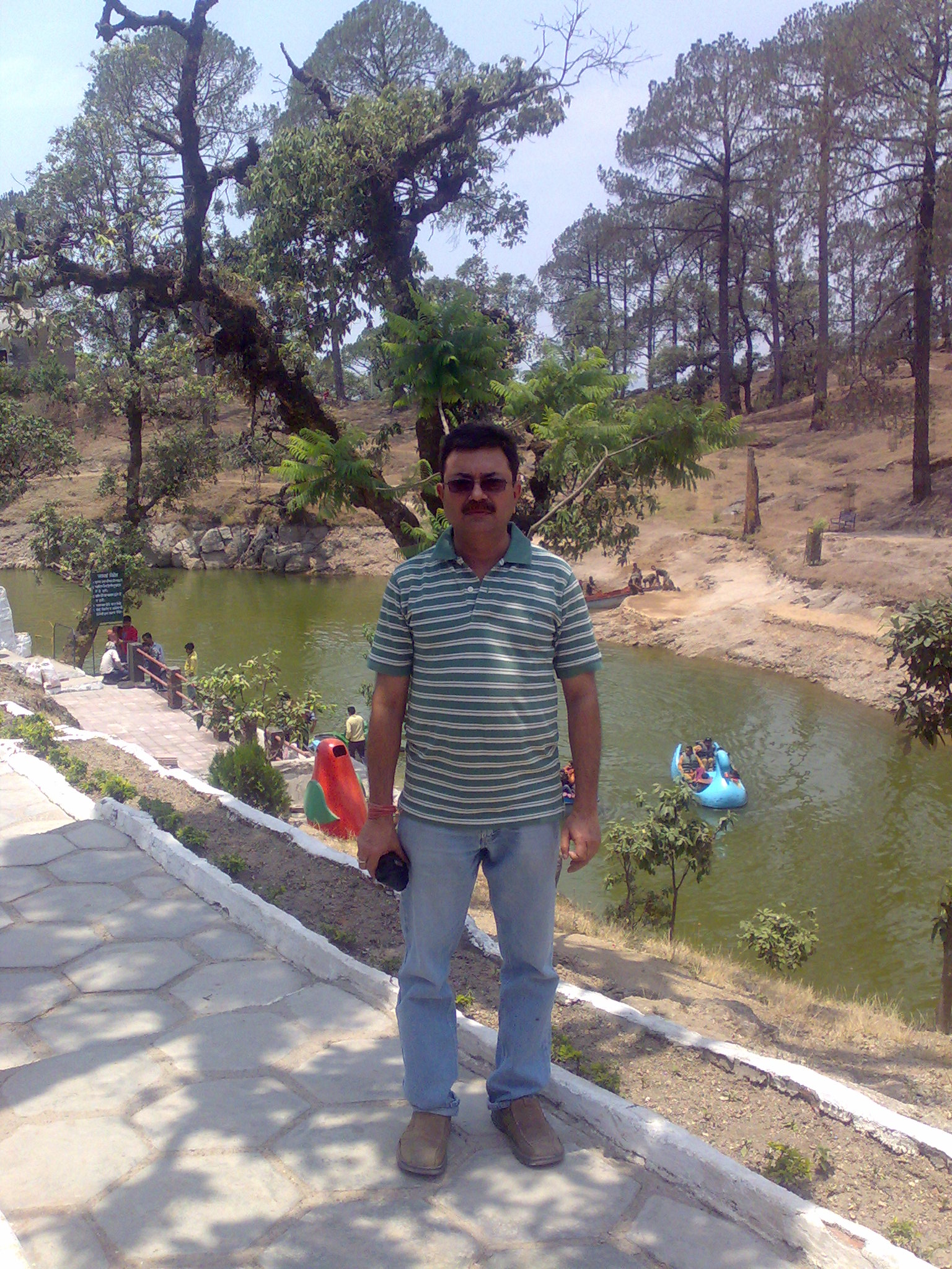Bhulla Tal (lake), Lansdowne, India