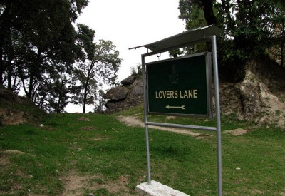 Lovers lane, Lansdowne, India
