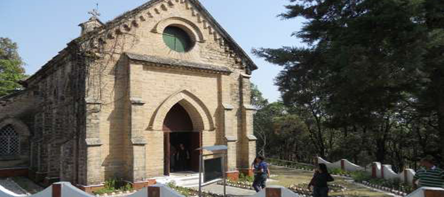 St. Marys Church, Lansdowne, India