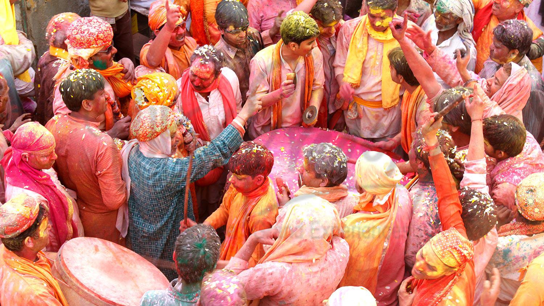 Braj Holi, Mathura, India