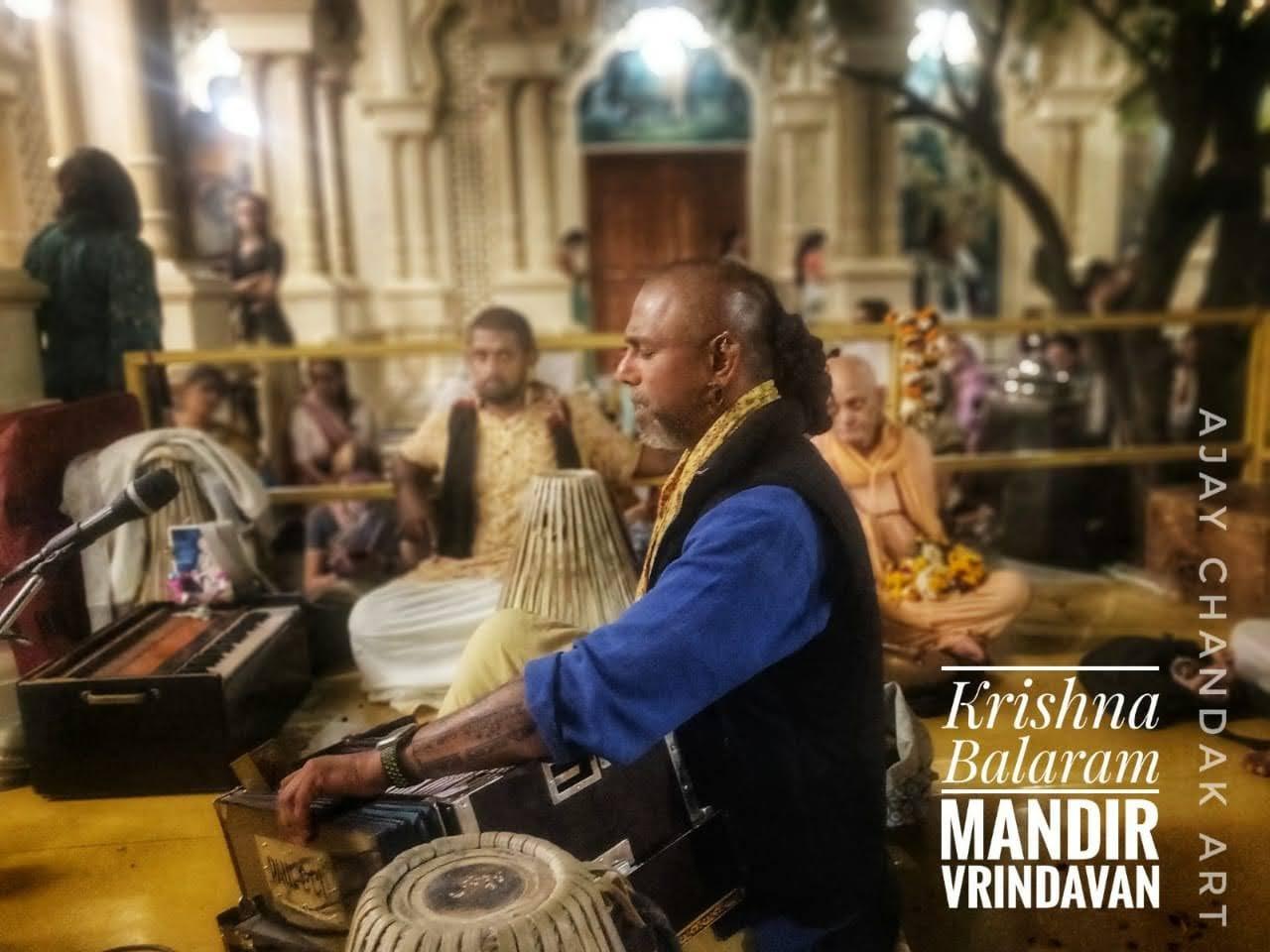 Krishna Balaram Mandir, Vrindavan, India