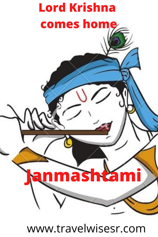 Lord Krishna comes home